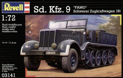 3141 - Sd.Kfz.9 FAMO 1/72