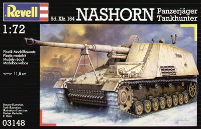 3148 - Sd.Kfz.164 Nashorn 1/72