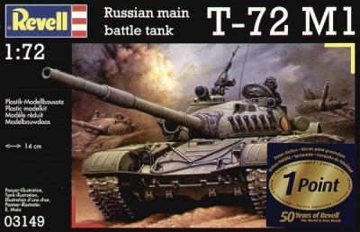 3149 - Russian T-72M1 1/72