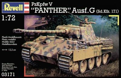 3171 - Pz.Kpfw.V Panther Ausf.G 1/72