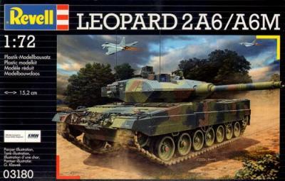 3180 - Leopard 2A6/A6M 1/72