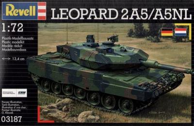 3187 - Leopard 2A5 / A5 NL 1/72