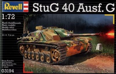 3194 - Sturmgeschutz/StuG 40 Ausf.G 1/72