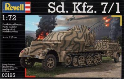 3195 - Sd.Kfz.7/1 1/72