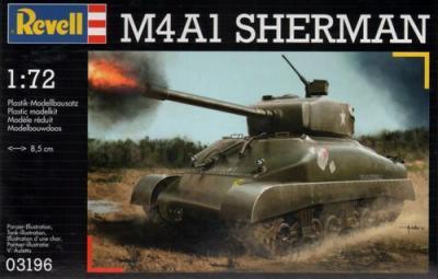3196 - M4A1 Sherman 1/72