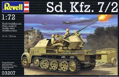 3207 - Sd.Kfz.7/2 1/72