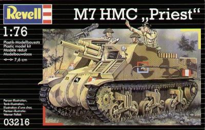 3216 - M7 HMC 'Priest' 1/76