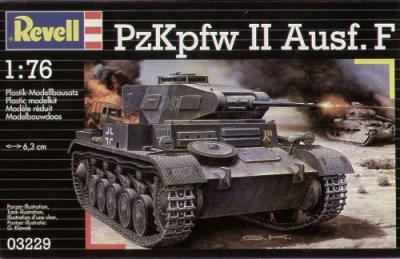 3229 - Pz.Kpfw.II Ausf.F 1/76