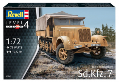 3263 - Sd.Kfz.7 (Late Production) 1/72