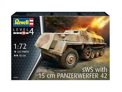3264 - 15cm Panzerwerfer 42 auf sWS  1/72