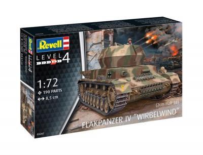 3267 - Flakpanzer IV Wirbelwind 1/72