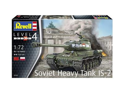 3269 - Soviet IS-2 Soviet Heavy tank 1/72