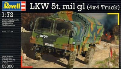 3300 - LKW 5t mil gl 1/72