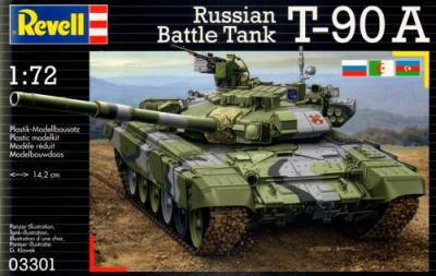 3301 - Soviet T-90A 1/72