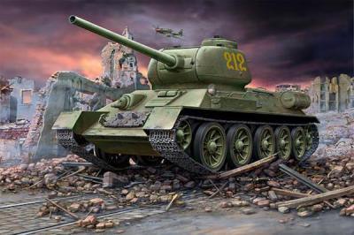 3302 - Russian T-34/85 1/72