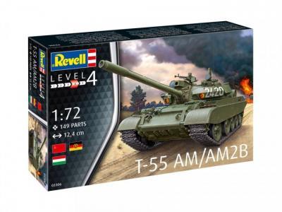 3306 - Soviet T-55AM / T-55AM2B 1/72