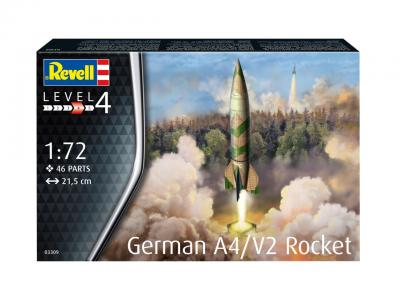 3309 - German A4/V2 Rocket 1/72