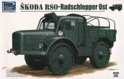 RV35005 - Skoda RSO Radschlepper OST WWII