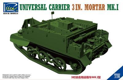 35017 - Universal Carrier 3 in. Mortar Mk.1