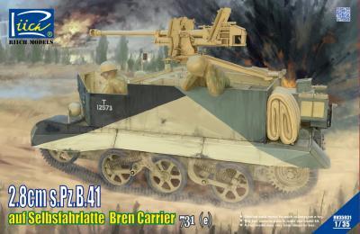 35031 - 2,8cm s.Pz.B.41 auf Selbsfahrlafette Bren Carrier 731(e)