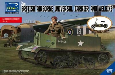 35034 - British Airborne Universal Carrier Mk.III & Welbike Mk.2