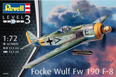 3898 - Focke Wulf Fw-190F-8 1/72