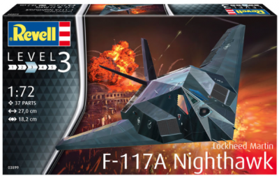 3899 - Lockheed F-117 Stealth Fighter 1/72