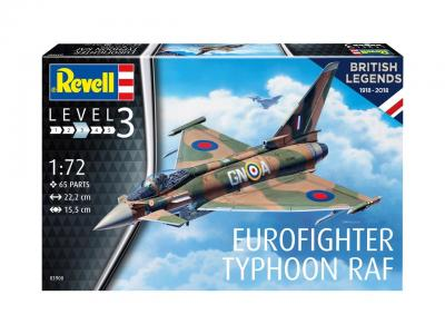 3900 - Eurofighter Typhoon 100 Years RAF 1/72