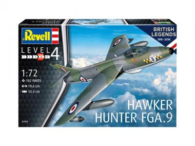 3908 - Hawker Hunter FGA.9 100 Years RAF 1/72