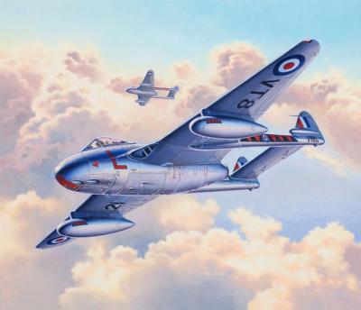 3934 - De Havilland Vampire F.3 1/72