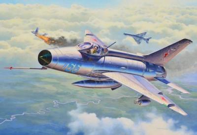 3967 - Mikoyan MiG-21 F.13 1/72