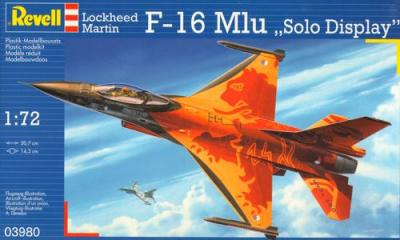 3980 - Lockheed-Martin F-16 MLU Eagle Demonstrator 1/72