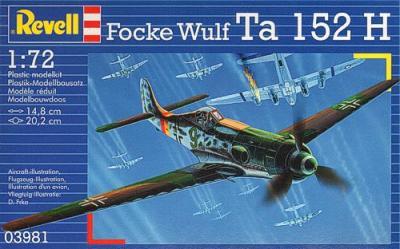 3981 - Focke-Wulf Ta 152H 1/72