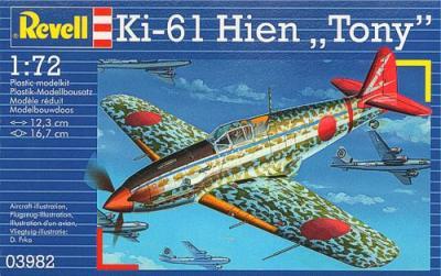 3982 - Kawasaki Ki-61 Hien 'Tony' 1/72