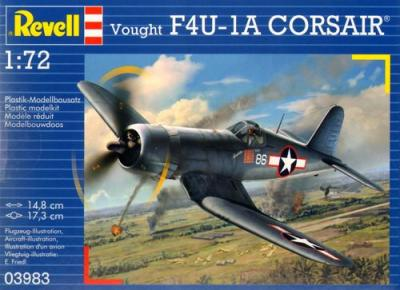 3983 - Vought F4U-1A Corsair 1/72