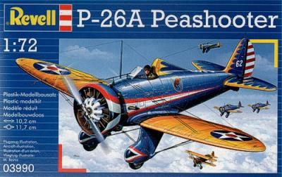 3990 - Boeing P-26A Peashooter 1/72