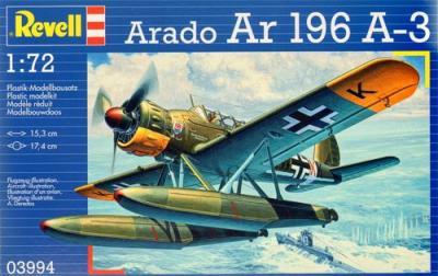 3994 - Arado Ar 196A-3 floatplane 1/72