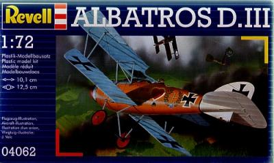 4062 - Albatros D.III 1/72