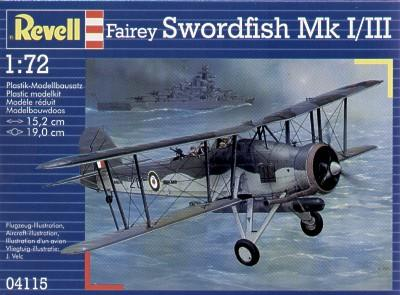 4115 - Fairey Swordfish Mk.I / Mk.III 1/72