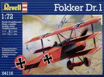 4116 - Fokker Dr.I Triplane 1/72