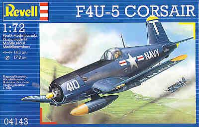 4143 - Vought F4U-5 Corsairs 'Black Sheep' 1/72