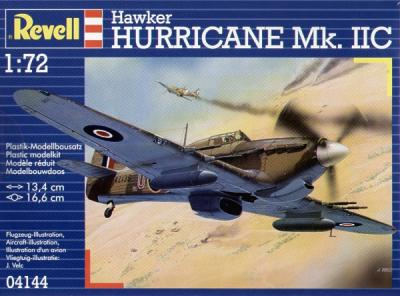 4144 - Hawker Hurricane Mk.IIC 'North African Theatre' version 1/72