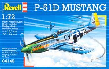 4148 - North-American P-51D Mustang 1/72