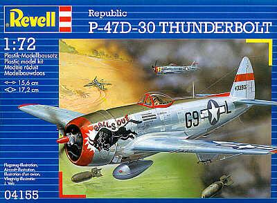 4155 - Republic P-47D Thunderbolt 'Bubbletop canopy' 1/72