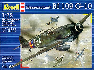 4160 - Messerschmitt Bf 109G-10 1/72