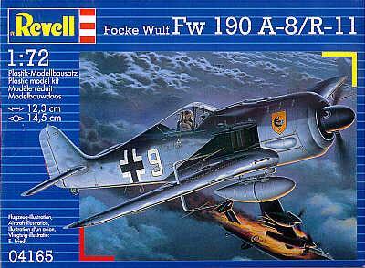 4165 - Focke-Wulf Fw 190A-8/R11 1/72