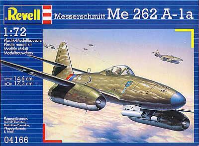 4166 - Messerschmitt Me 262A-1a 1/72