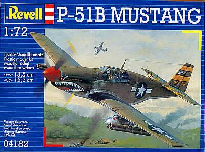 4182 - North-American P-51B Mustang 1/72