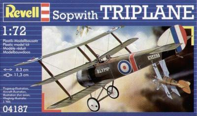 4187 - Sopwith Triplane 1/72