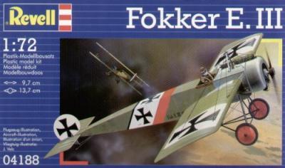 4188 - Fokker E-III 1/72